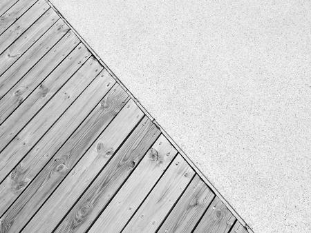 piso piedra: la madera y el suelo de piedra de la textura
