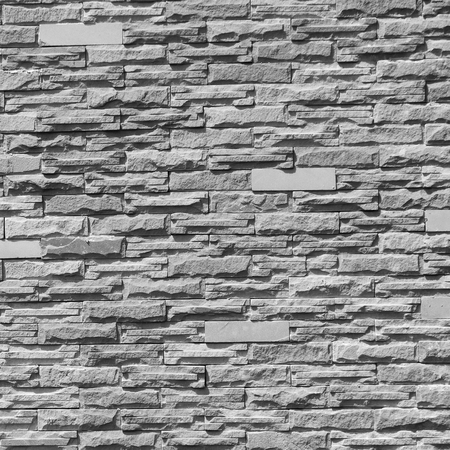 light slate gray: gray stone wall pattern with light and shadow Stock Photo