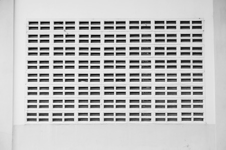 vents: White walls with vents