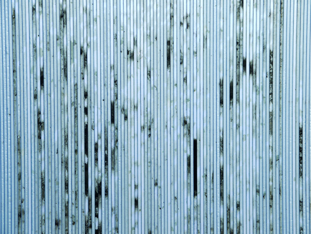 lucidity: dirty old blue polycarbonate sheet pattern