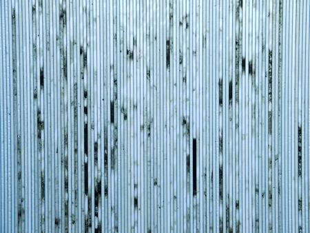 dirty sheet: dirty old blue polycarbonate sheet pattern