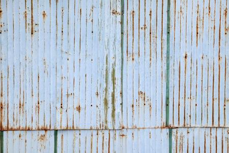 zinc: Old damage rusty zinc plat wall