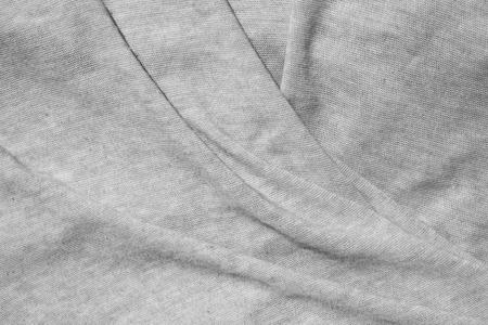 gray texture: gray fabric fold texture Stock Photo