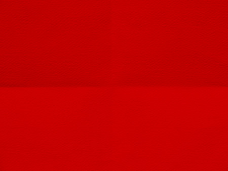 red sheet: red sheet of paper folded texture Stock Photo
