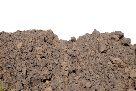 pile of soil construction Stock Photo