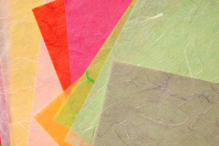 handmade paper: pile of handmade paper