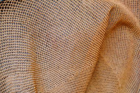 bretagne: Fishing net closeup