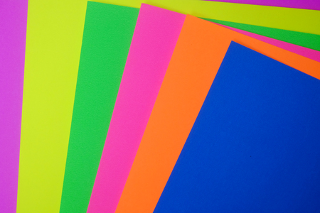 pile: pile of color paper