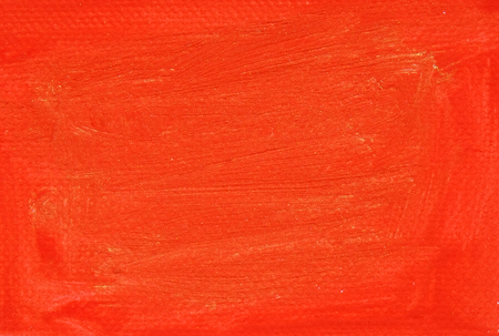vermilion: red painting oil color on canvas texture Stock Photo