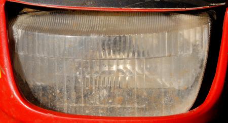 metal filament: old motorcycle headlights