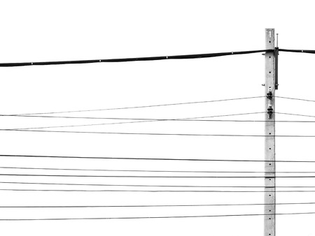 chaotic: chaotic wire on pole