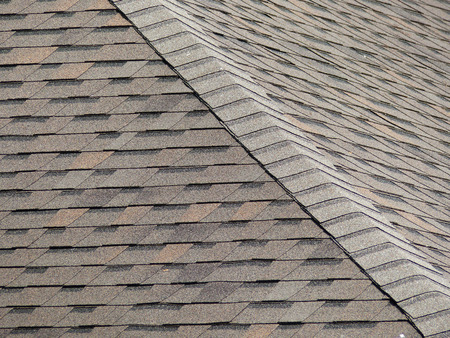 Roof shingles Stockfoto