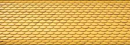 yellow tile roof pattern