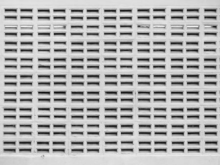 orificio nasal: White walls with vents
