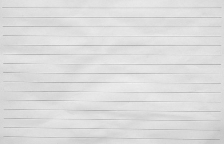 writing pad: Blank white paper lined Stock Photo