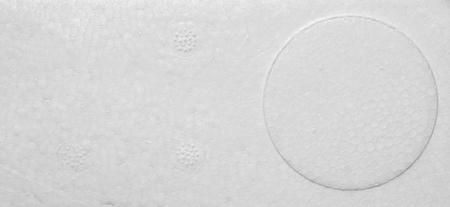 polystyrene: Polystyrene foam texture