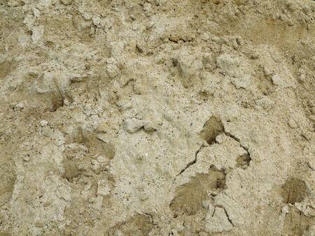 sand quarry: pile of sand construction texture