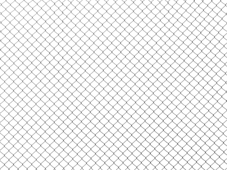 steel wire mesh white background