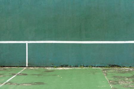 Old tennis court Lizenzfreie Bilder