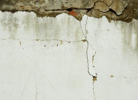 균열 질감 배경 가진 오래 된 벽