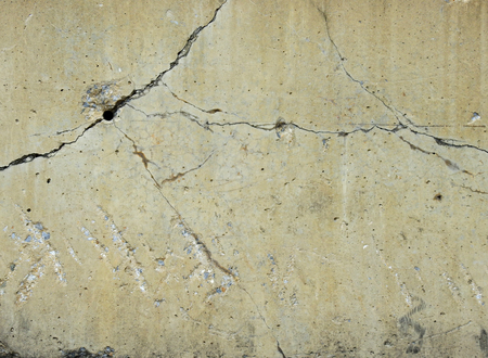 grooves: crack concrete wall background Stock Photo