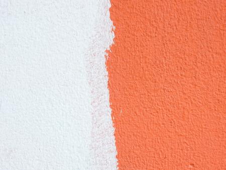 壁の色の背景を描く