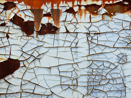 grooves: crack texture with rust on metal pattern
