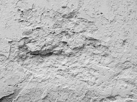 grooves: old damage white plaster wall texture