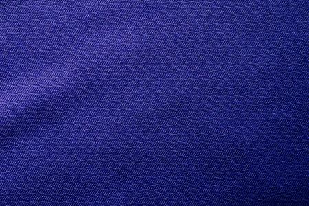 blue fabric cloth texture, thread background Stock Photo