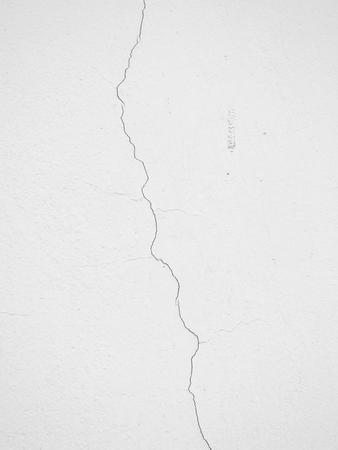 white wall with crack texture