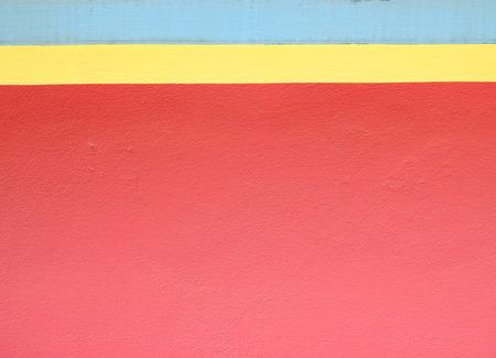 colorful concrete wall minimalism style Stockfoto