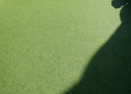 artificial grass floor with shadow texture Stockfoto