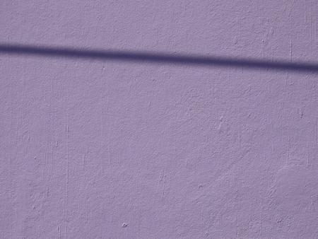 purple wall with shadow background Stockfoto