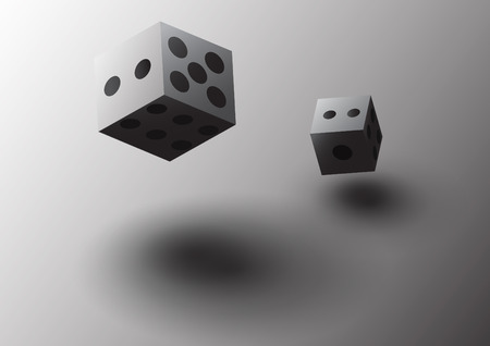 chances: dice illustration