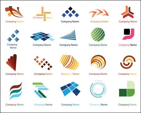 translucent: Logo elementi Vettoriali