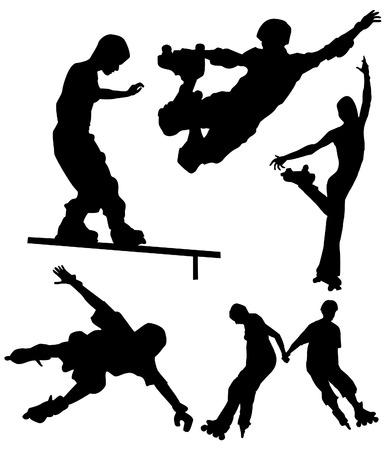 rollerblading: Patinaje