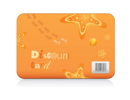 discount card: Summer discount card