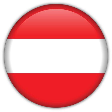 Austria flag icon Vector