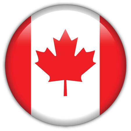 Canada flag icon Stock Vector - 9755801