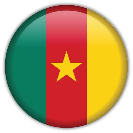 cameroon: Cameroon flag icon Illustration