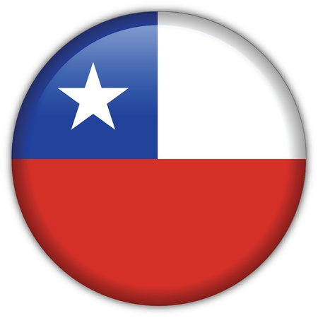 Chile flag icon Stock Vector - 9177650