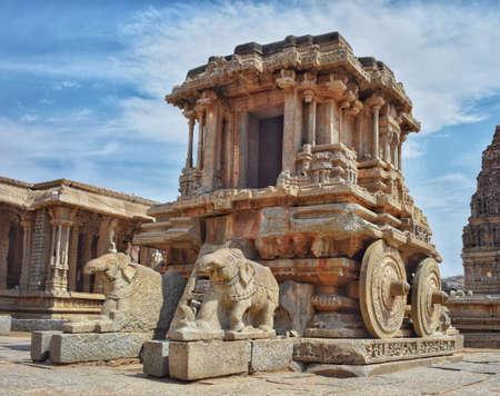 Le temple vitthala, Hampi