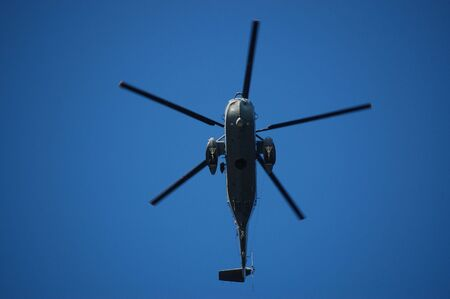 helicopter close up