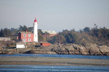 west coast lighthouse Imagens
