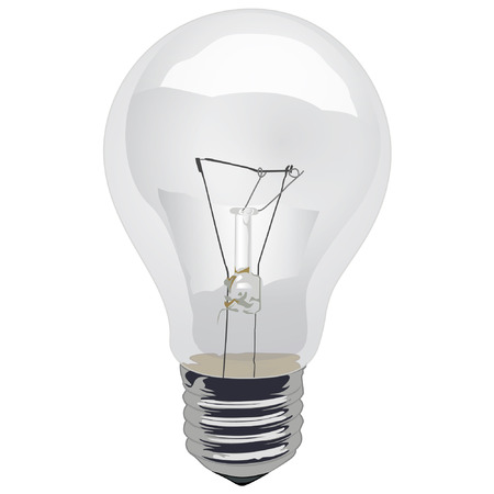 incandescent: Light Bulb Incandescent Clear