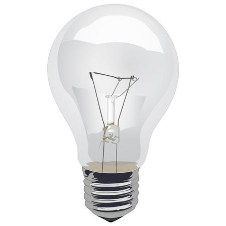 incandescent: Light Bulb Incandescent Clear