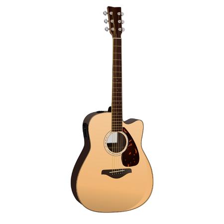 frets: Guitarra ac?stica