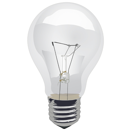 Light Bulb, Clear Incandescent