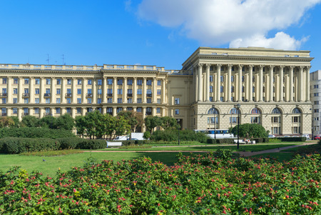 and st petersburg: The house on Troitskaya square in St. Petersburg Editorial
