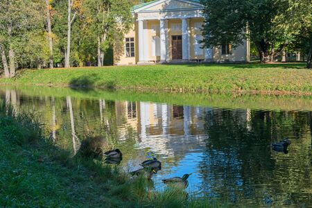 catherine: Concert hall in the Catherine Park of the Museum-reserve Tsarskoye Selo in Russia
